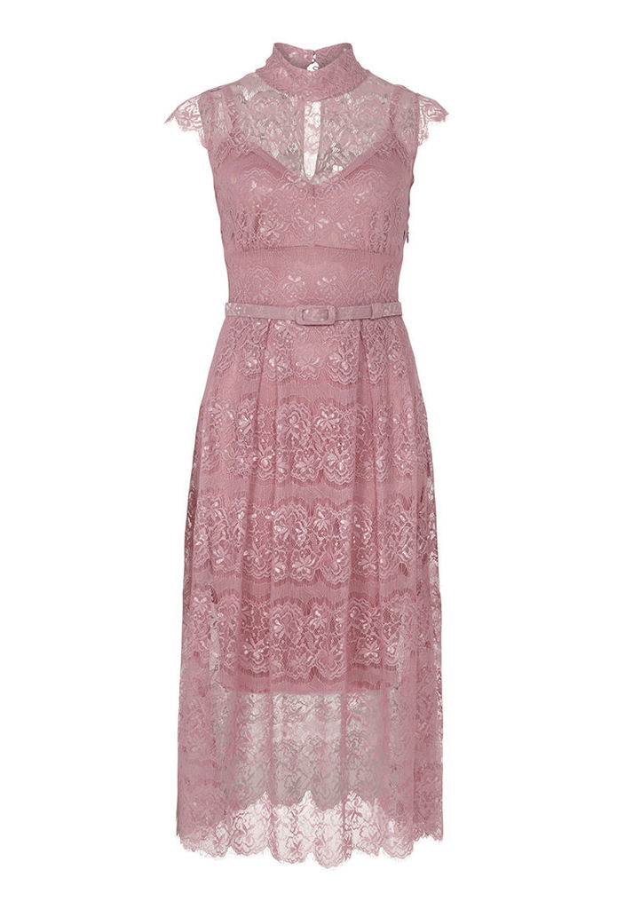 Body Frock Peony Dress in Smoked Rose