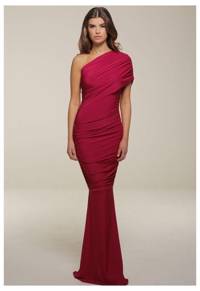 Honor Gold Alicia Maxi Dress in Berry