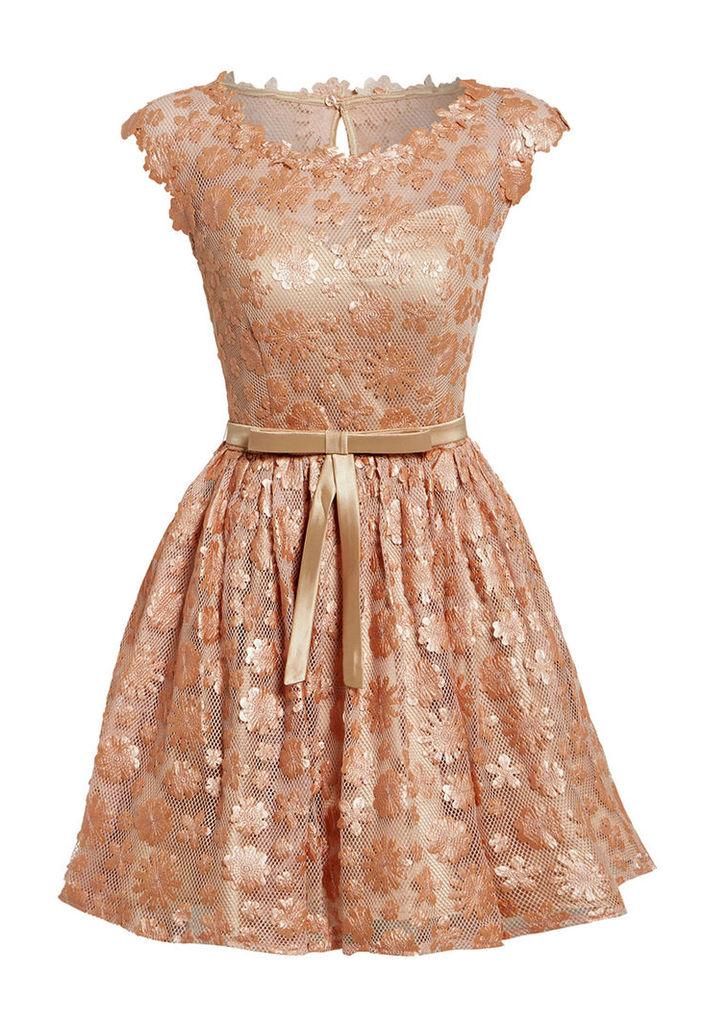 Nataliya Couture Amelia Dress in Blush