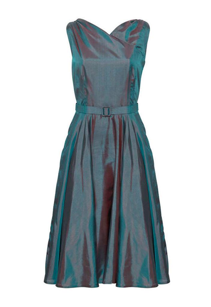 Caroline Beyll Elegant Changeant Dress