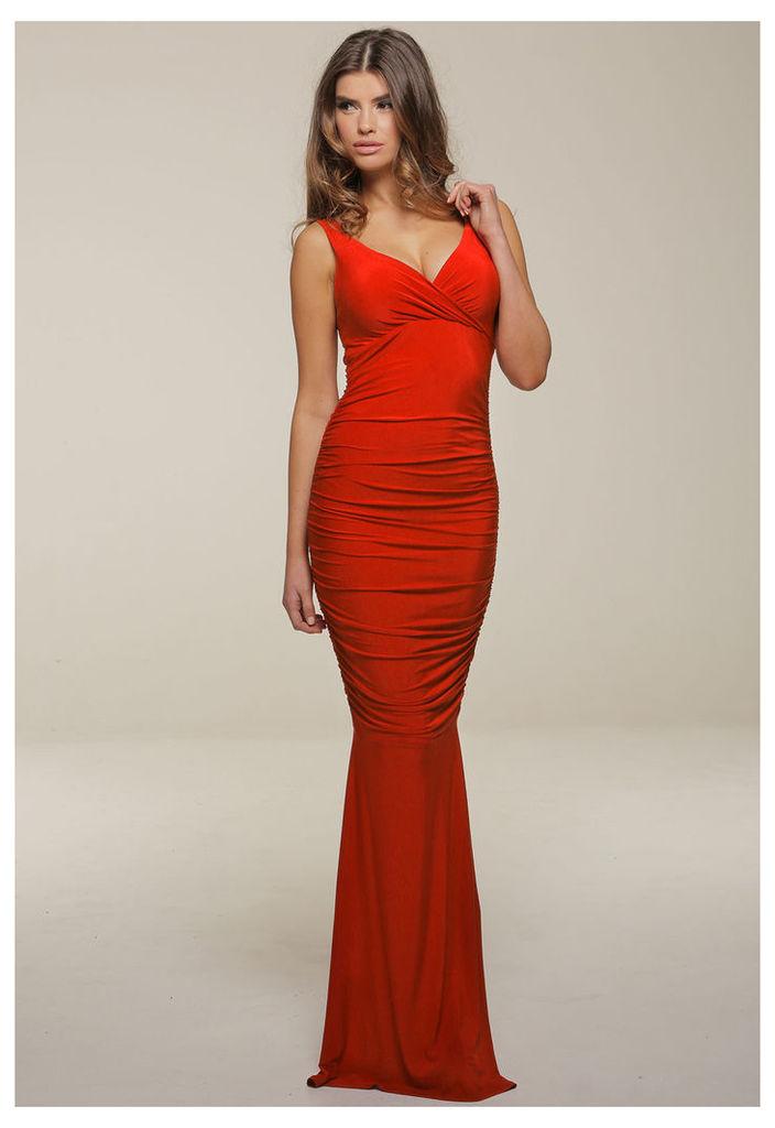 Honor Gold Gabriella Maxi Dress in Red