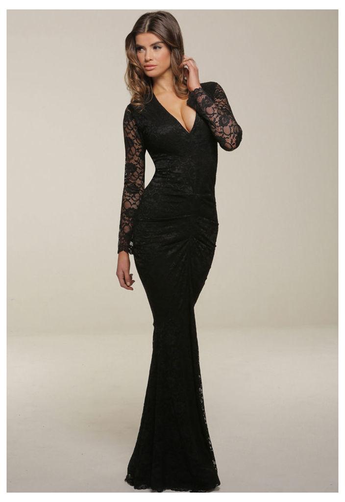 Honor Gold Savannah Maxi Dress in Black