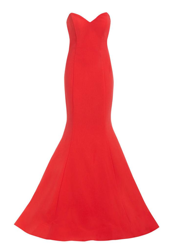 Nataliya Couture Natasha Dress in Coral