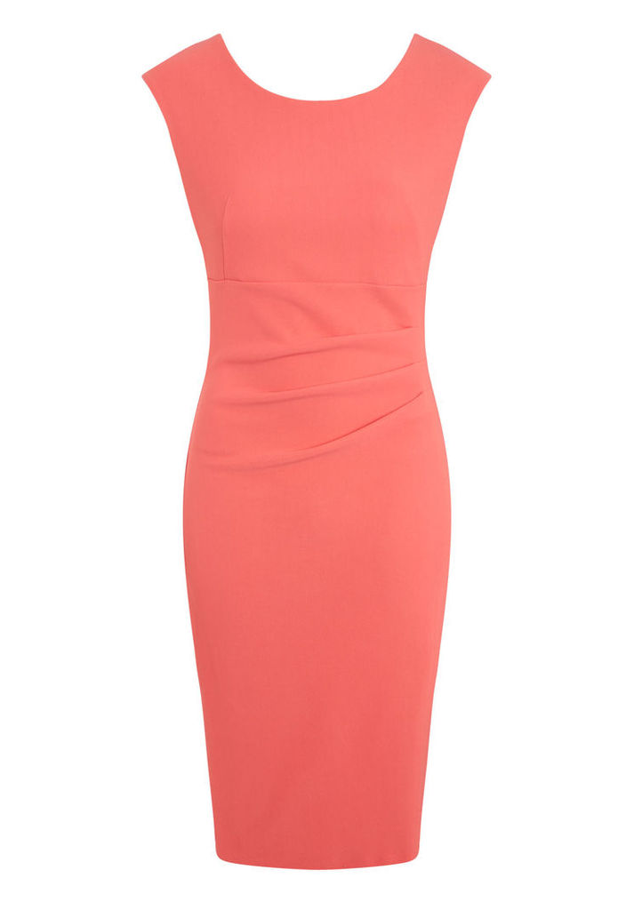 Vanessa Horne Grace Dress in Coral