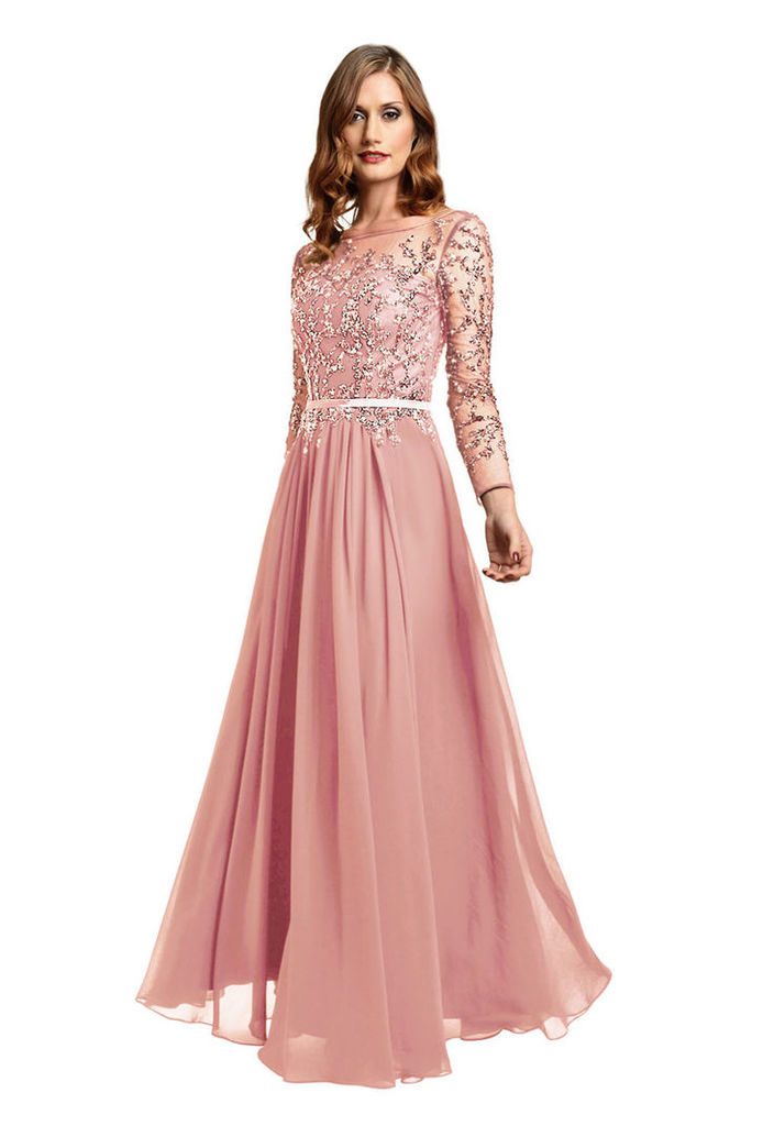 Dynasty Molly Pink Evening Dress