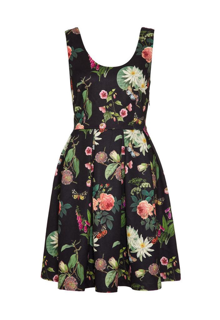Yumi Botanical Print Dress