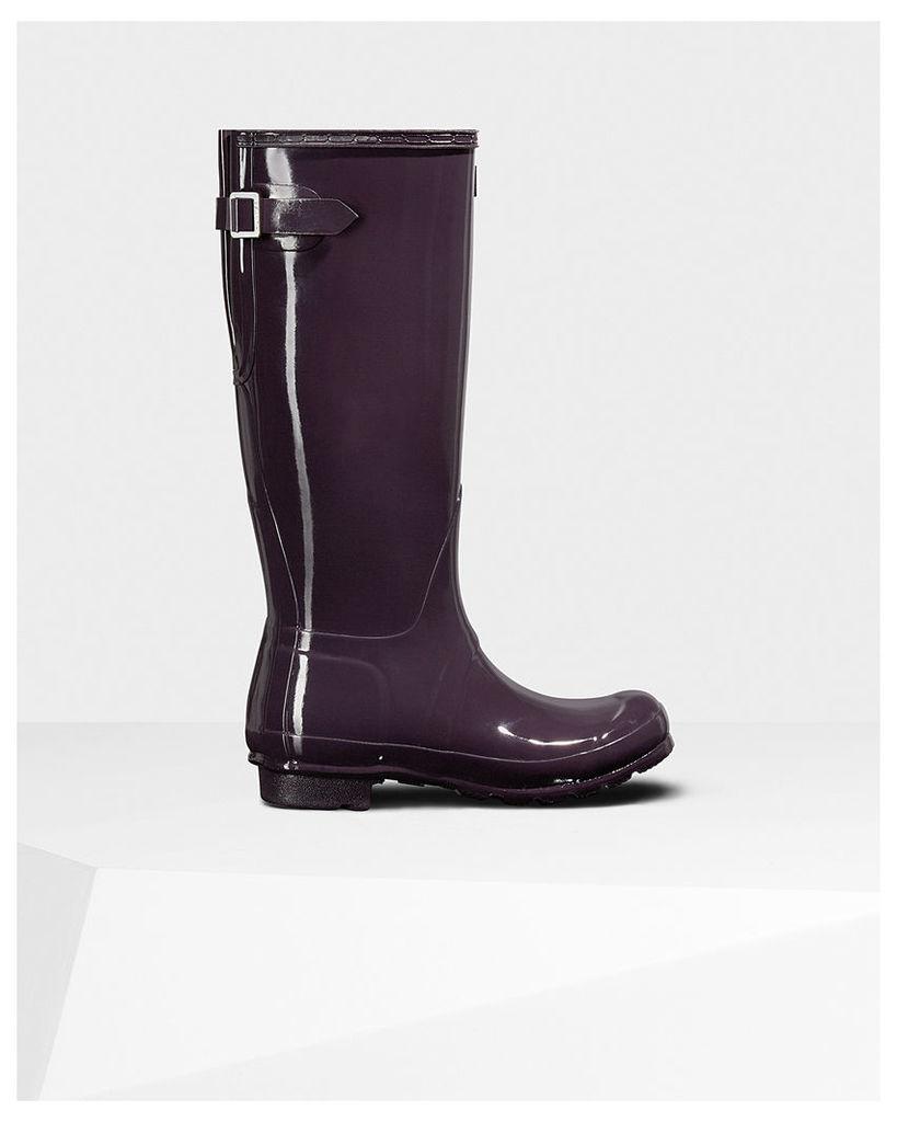 Women's Original Tall Adjustable Gloss Wellington Boots