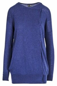 Side Detail Cuffed Jumper