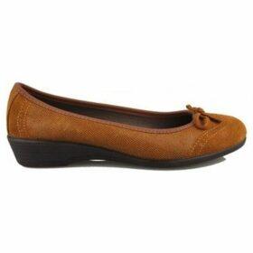 Vulladi  SERRAJE LETINA  women's Shoes (Pumps / Ballerinas) in Brown