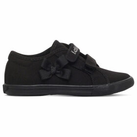Lelli Kelly Lily canvas school shoes 3-9 years, Size: EUR 35 / 2.5 UK ADULT, Black