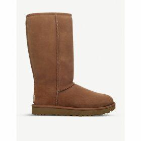 Ugg Classic ii tall sheepskin boots, Women's, Size: EUR 37 / 4 UK WOMEN, Brown