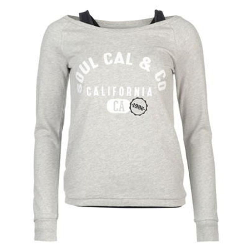 SoulCal Double Layer Sweater Ladies