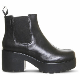 Dioon chunky leather Chelsea boots