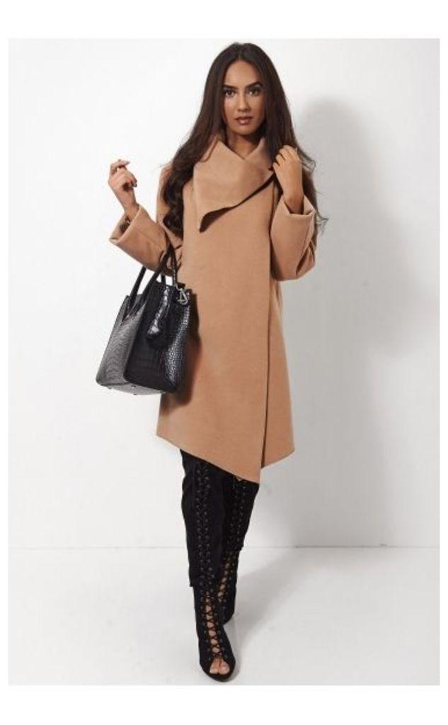 Laurie Tan Wrap Coat