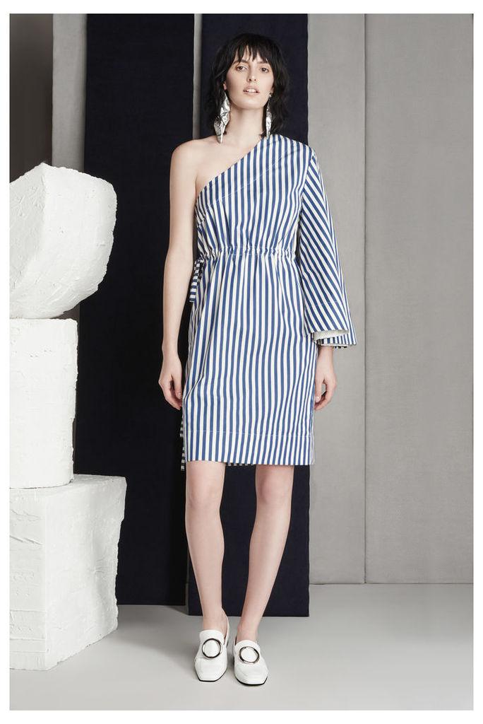 Aylin Dress Navy Stripe
