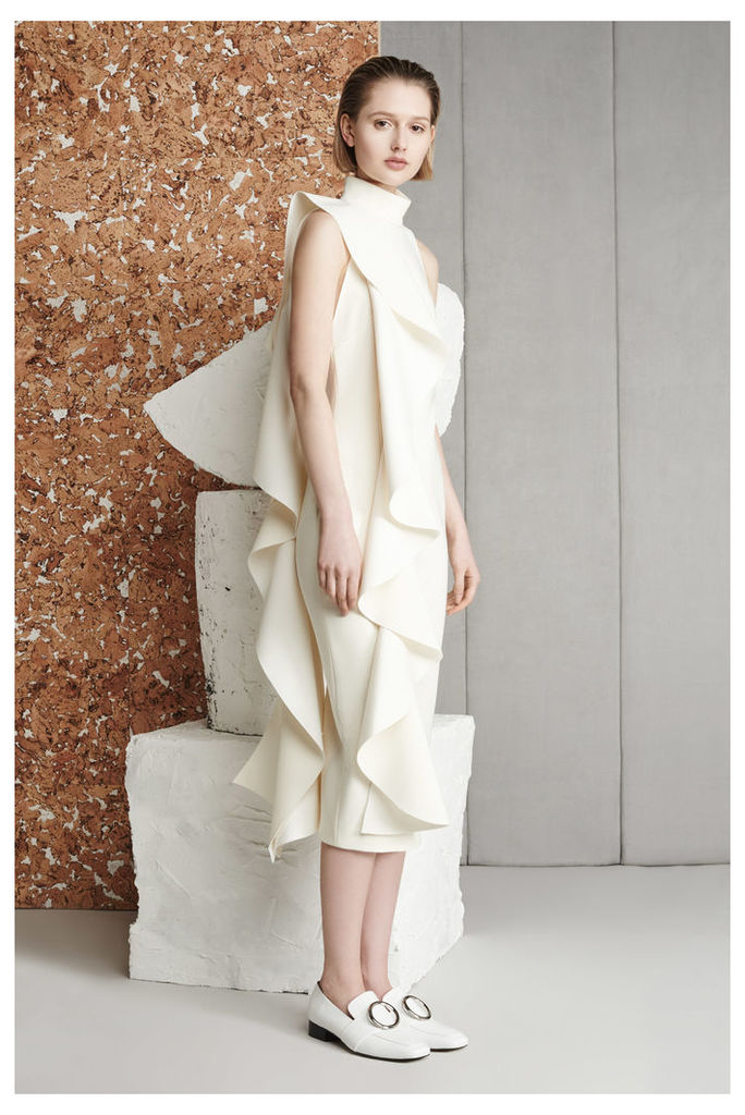 Amelle Dress Cream