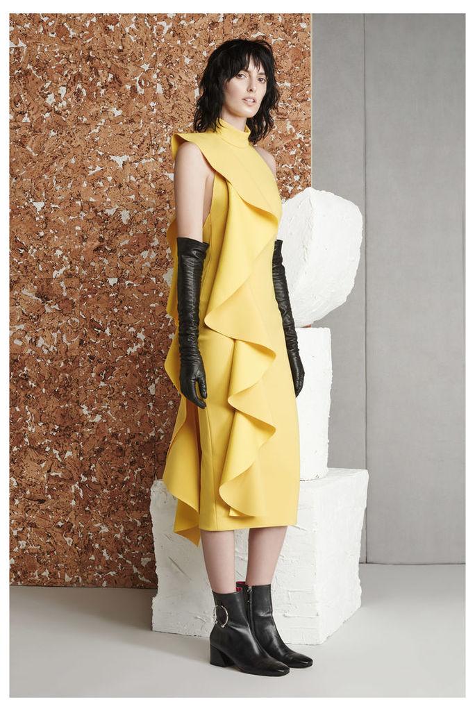 Amelle Dress Yellow