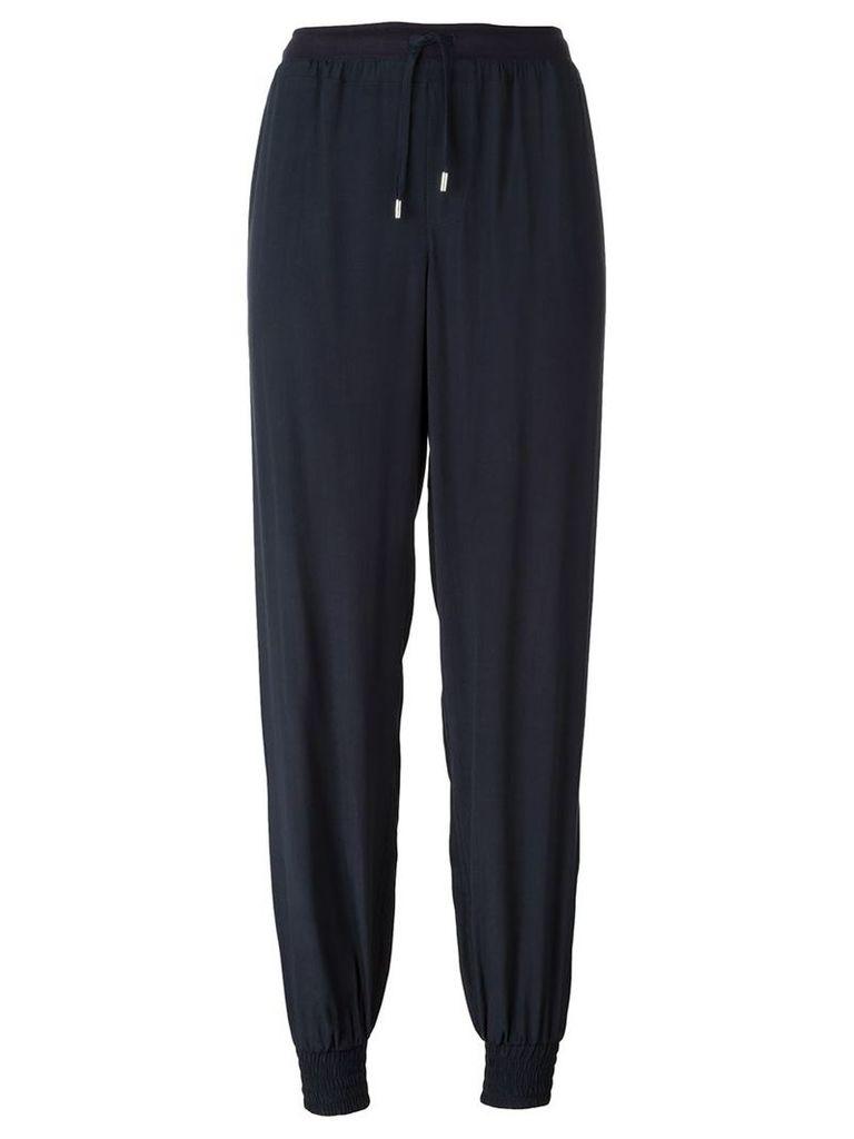 Armani Jeans track pants, Women's, Size: 40, Blue