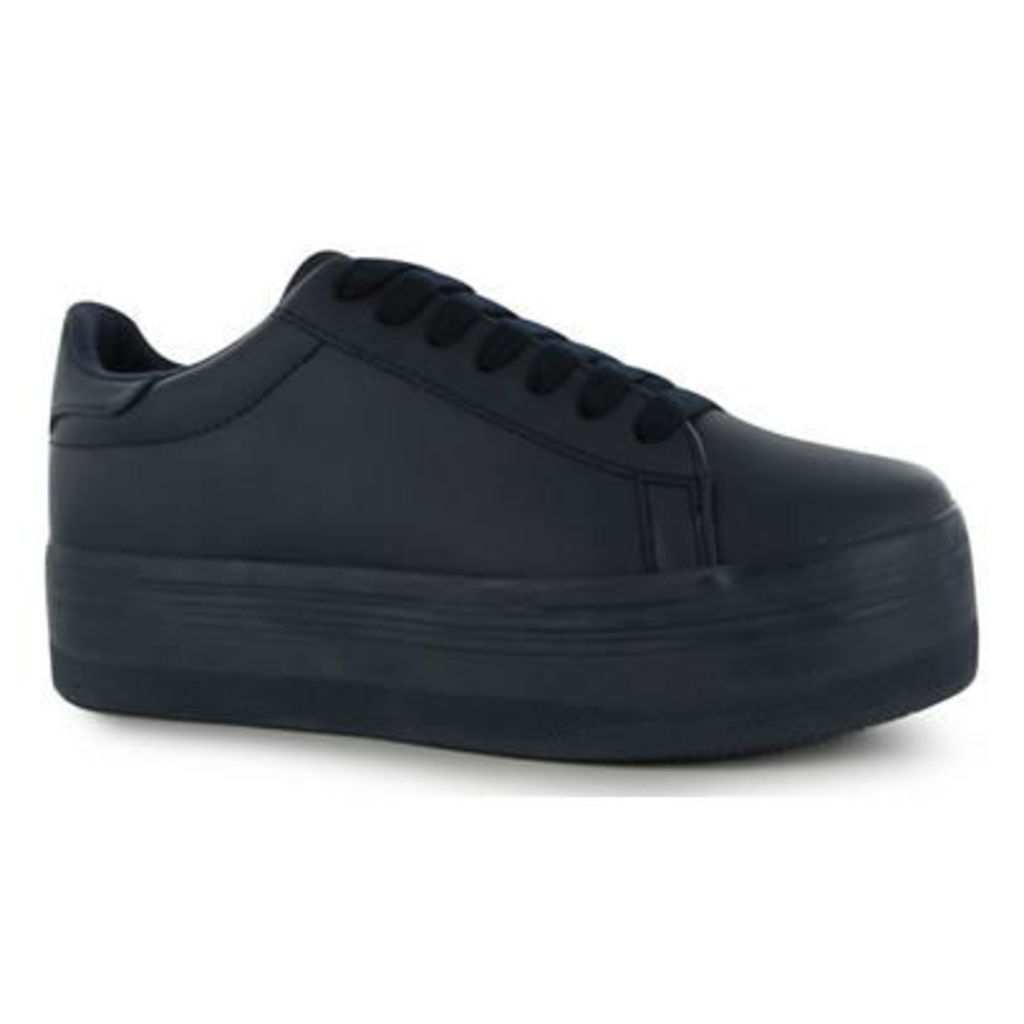 Jeffrey Play Stan Leather Look Trainers