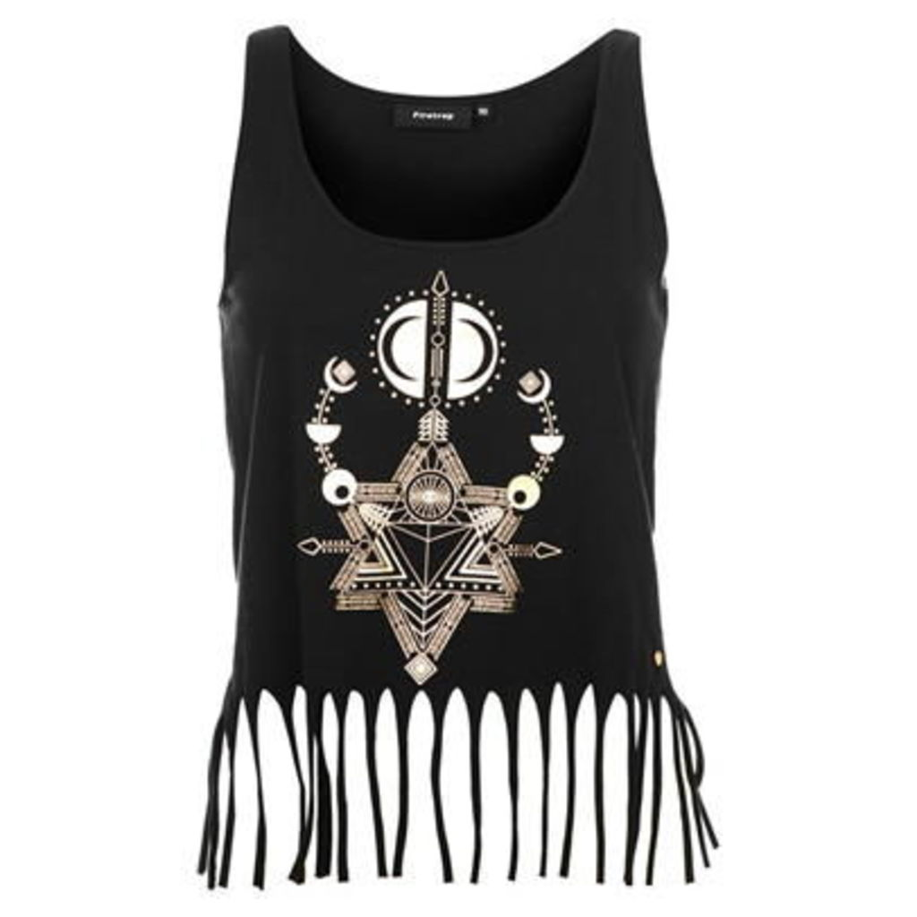 Firetrap Fringe Tank Top Ladies
