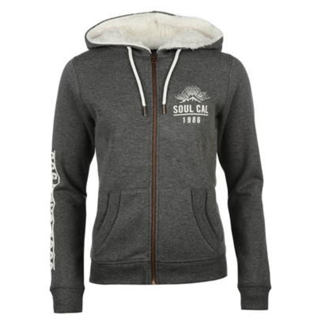 SoulCal Manhattan Zip Hoody Ladies