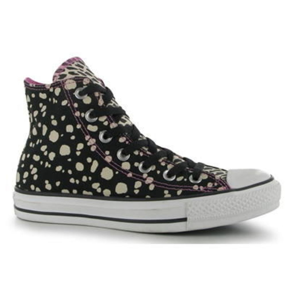 Converse Ox Animal Print Ladies Canvas Hi Tops