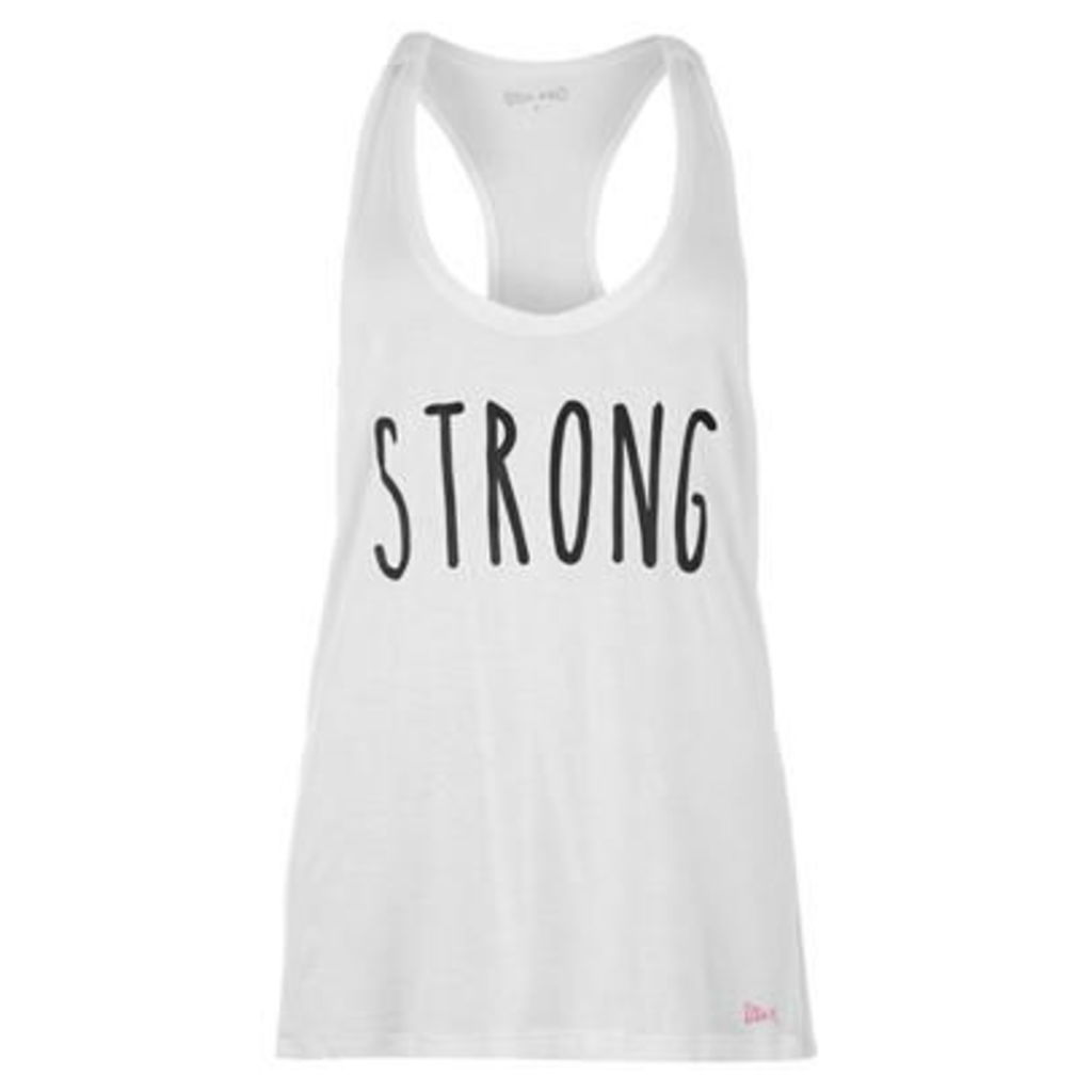 USA Slogan Tank Top Ladies