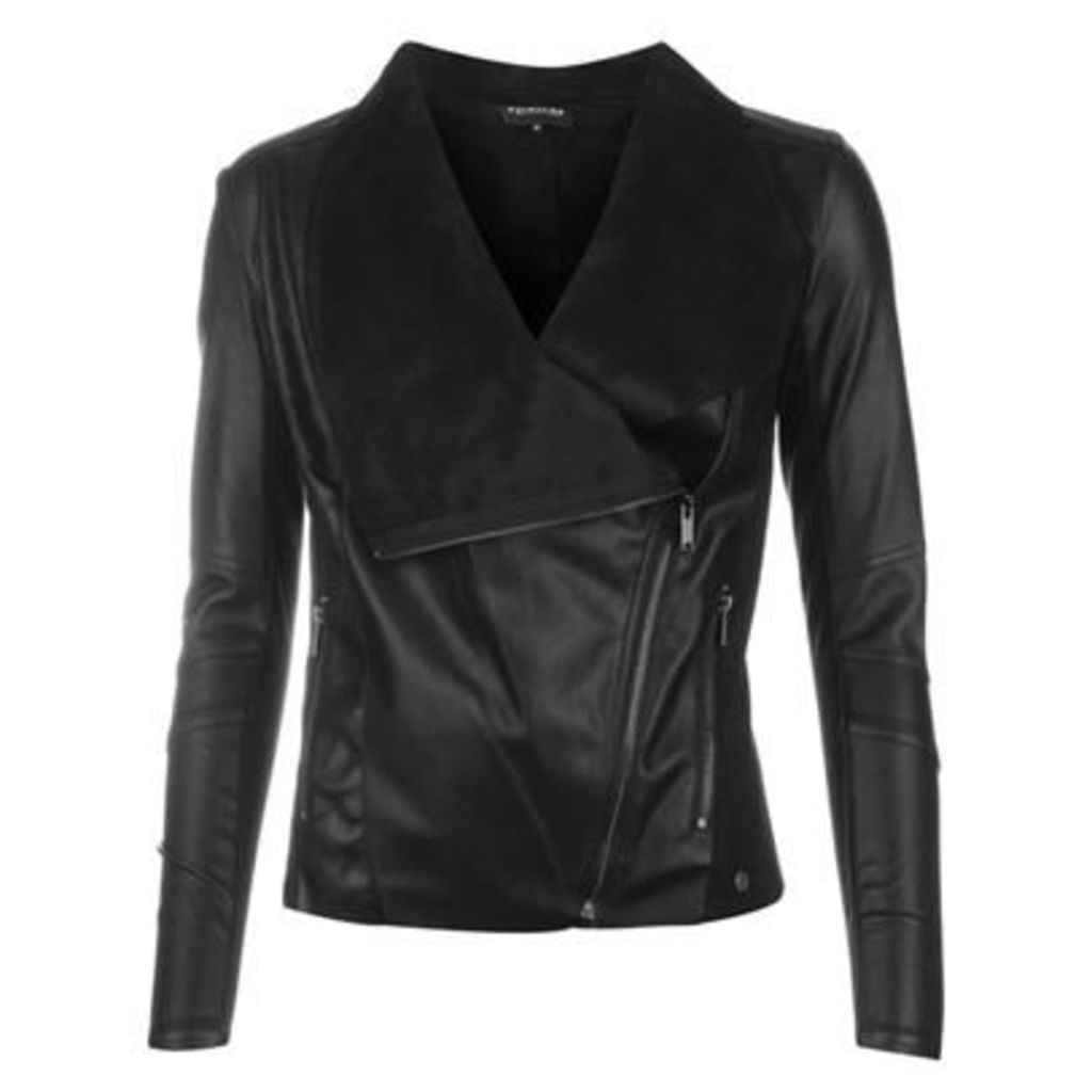 Firetrap Blackseal PU Jacket
