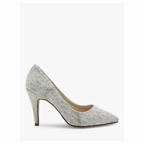 Rainbow Club Giverney Stiletto Heeled Court Shoes, Ivory