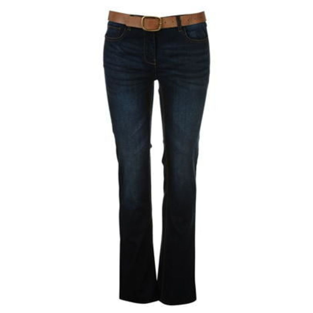 SoulCal Belted BootCut Womens Jeans