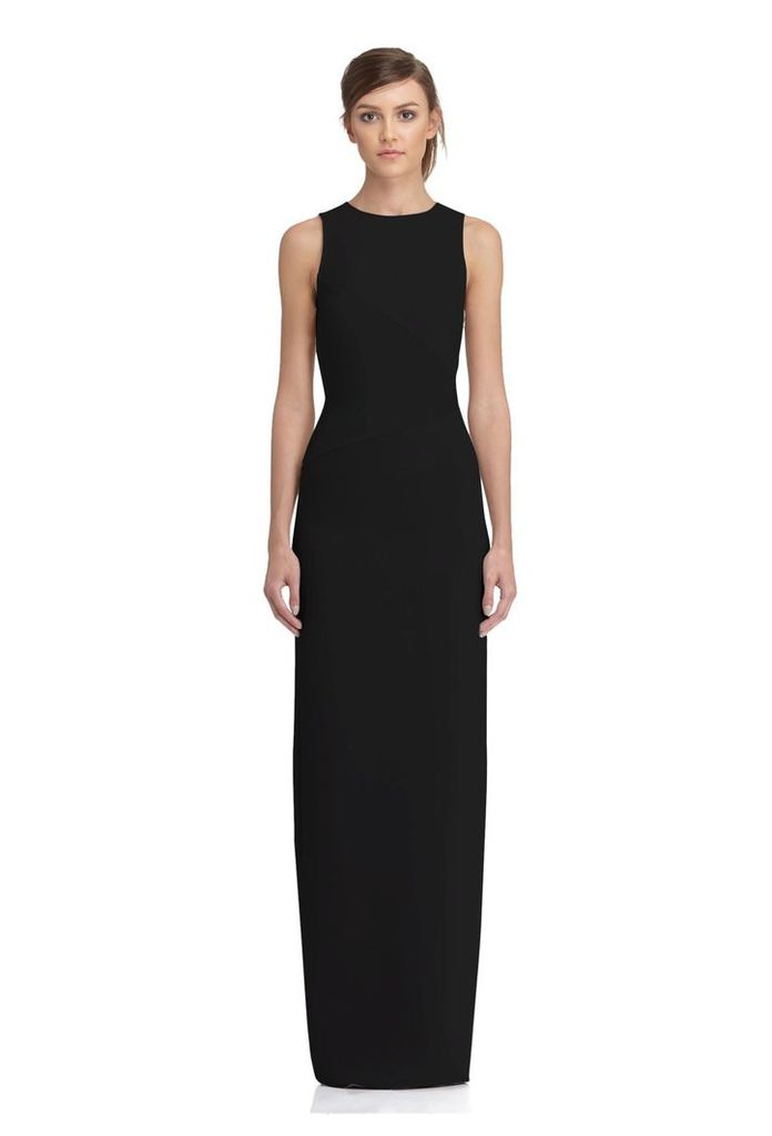 Lola Cut-Out Back Maxi Dress - Black