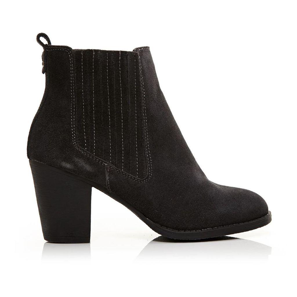 Moda in Pelle Bencio Grey Medium Casual Short Boots