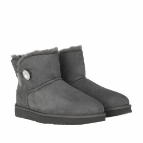 UGG Boots & Booties - W Mini Bailey Button Bling Grey - grey - Boots & Booties for ladies