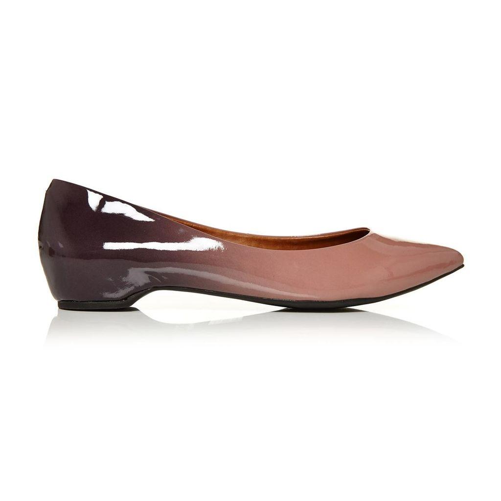 Moda in Pelle Elandra Nude Low Smart Shoes