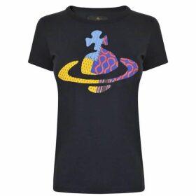 Vivienne Westwood Anglomania Heritage Orb T Shirt