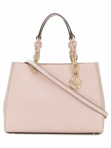 Michael Michael Kors Cynthia Saffiano satchel - Pink