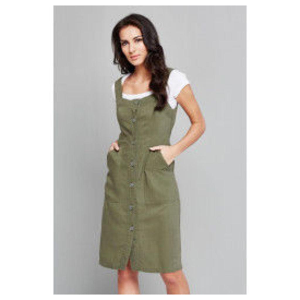 Vero Moda Lanna Pinafore Dress