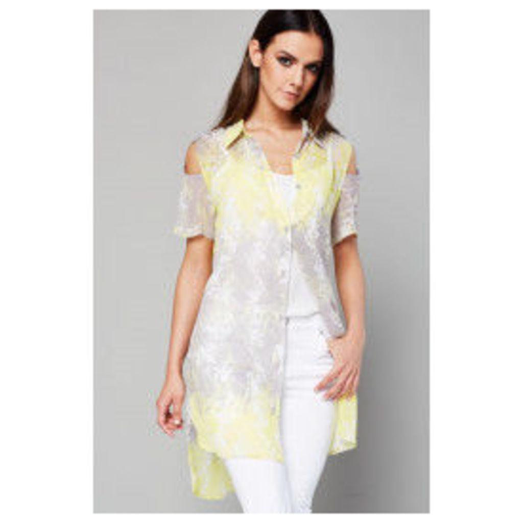 Style London Shirt Dress - Yellow