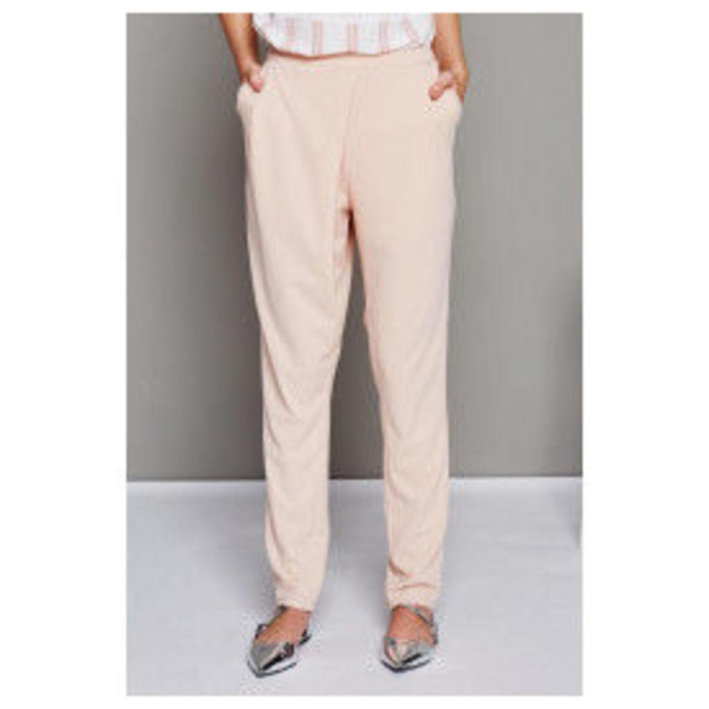 Fashion Union Asymmetric Skinny Trouser - Pink