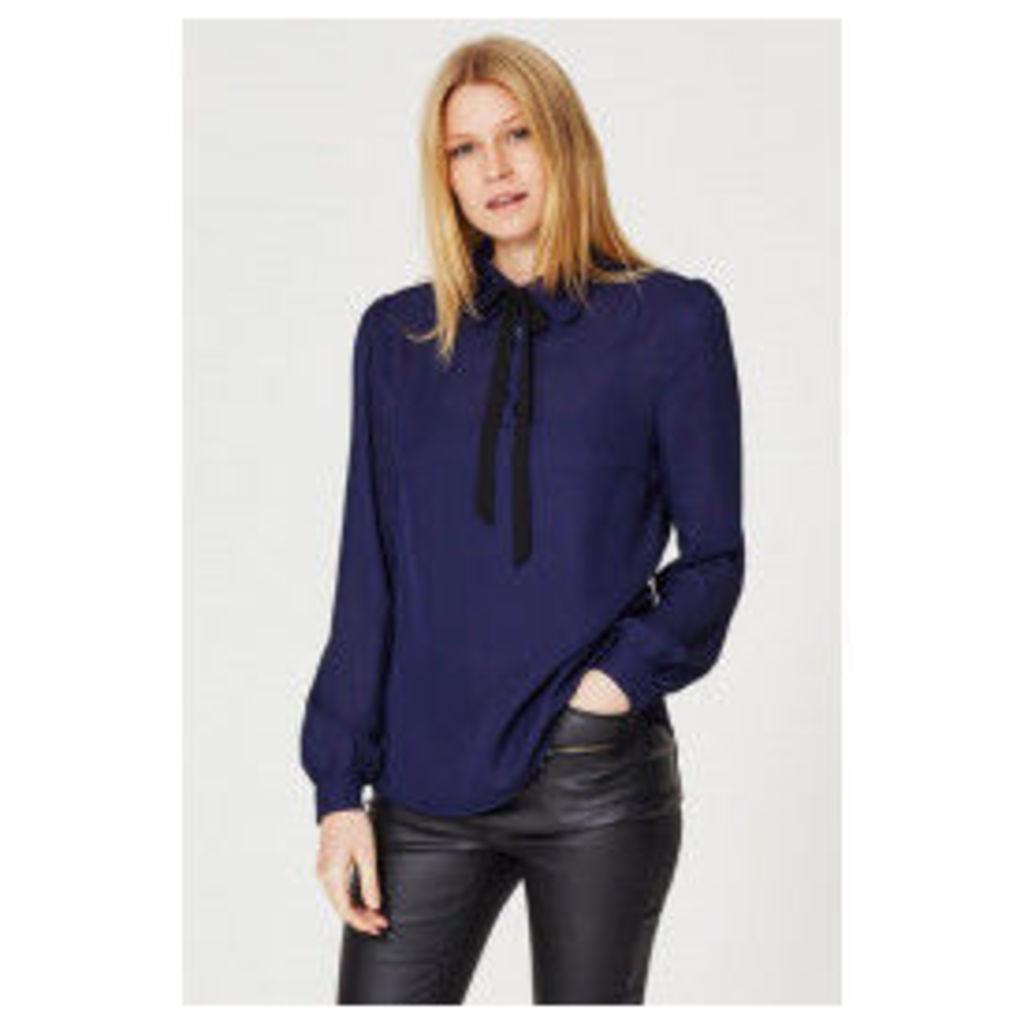 Fashion Union Diana Shirt  - Blue