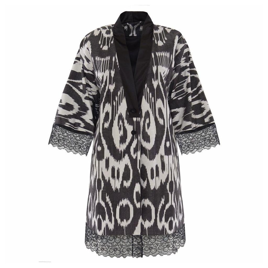 Asel Nova - Silk Ikat Coat
