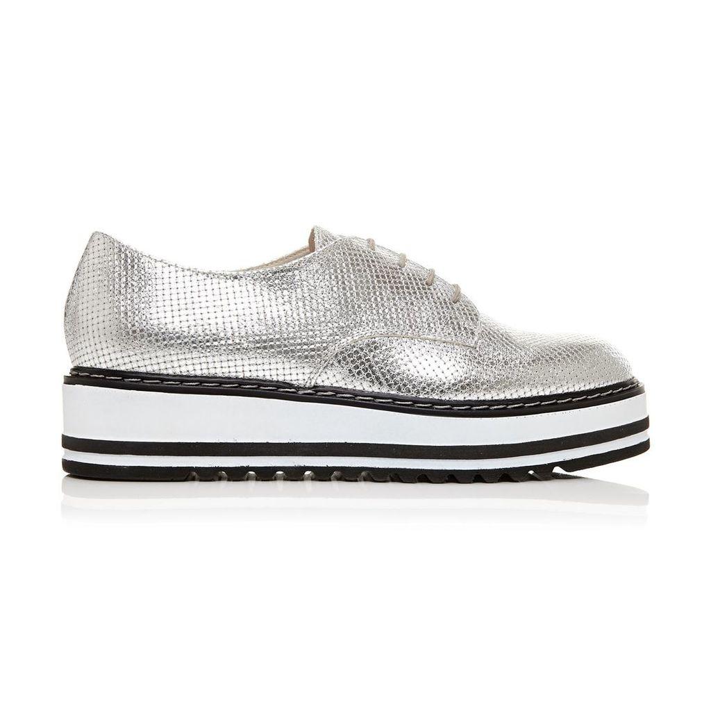 Moda in Pelle Elias Silver Medium Casual Shoes