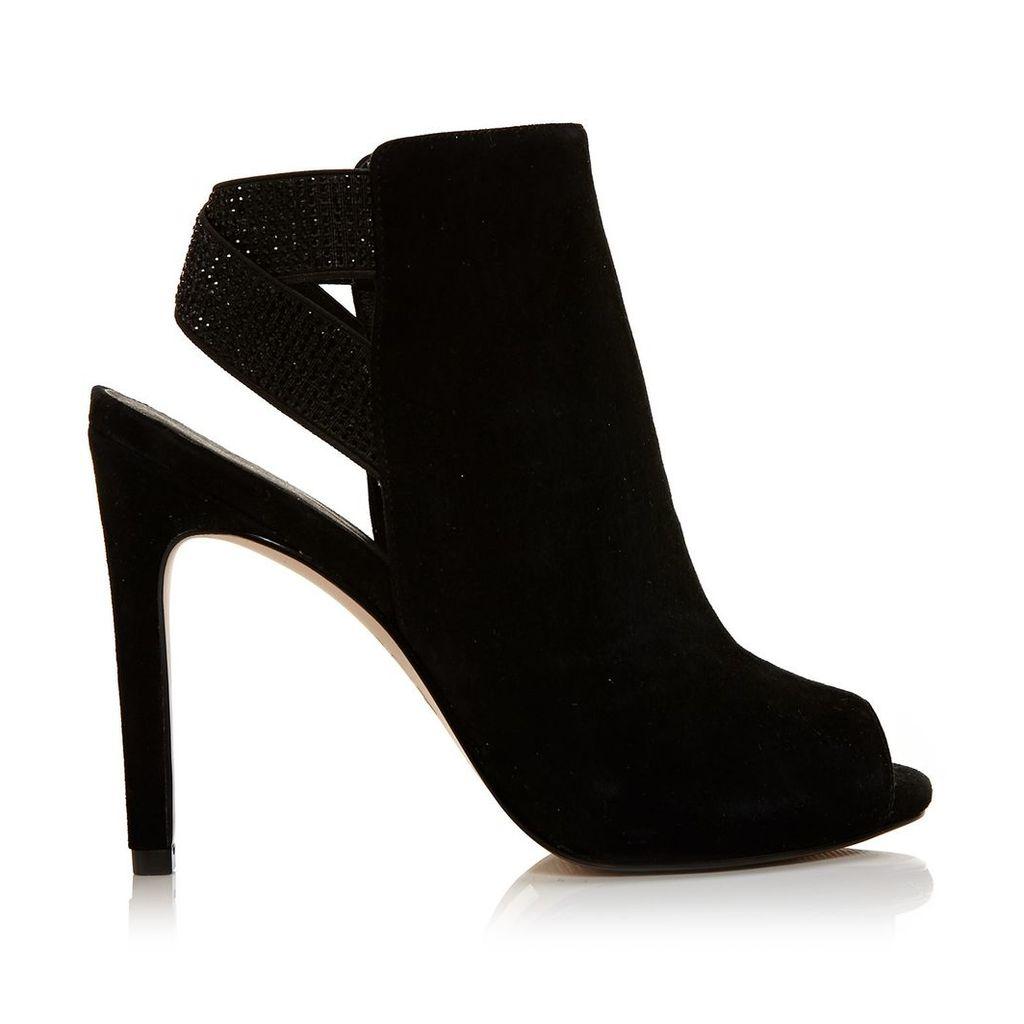 Moda in Pelle Lahela Black Very High Occasion Sandal