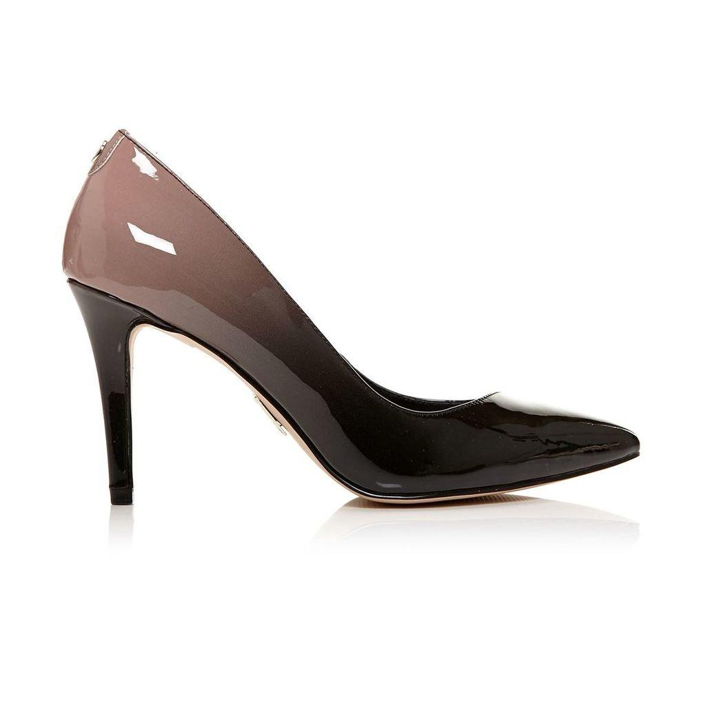 Moda in Pelle Carloni Black High Smart Shoes