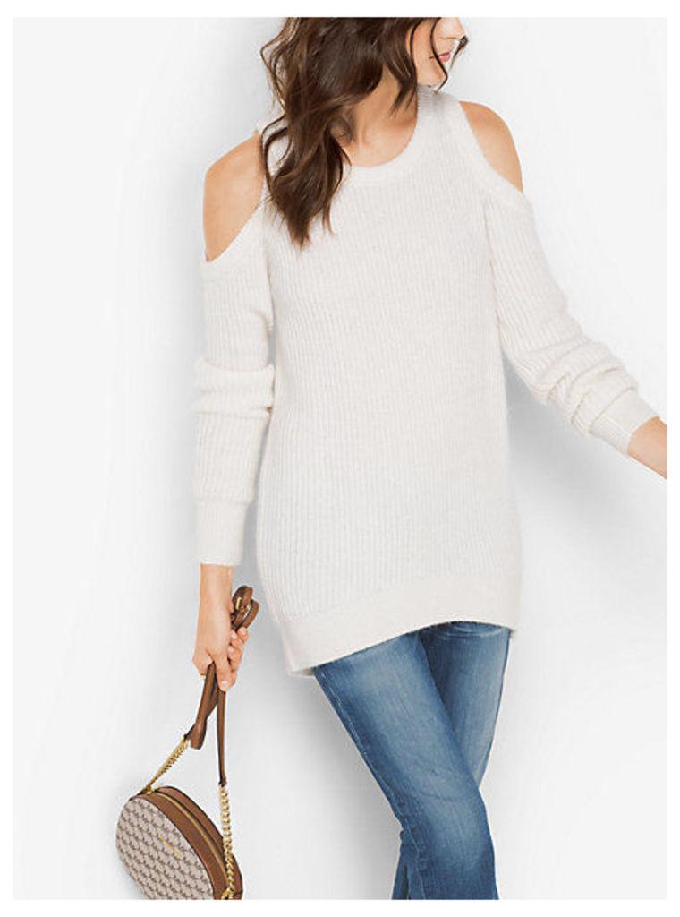 Wool-Blend Peekaboo Sweater