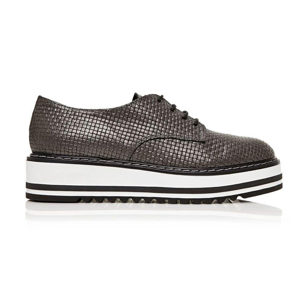 Moda in Pelle Elias Pewter Medium Casual Shoes