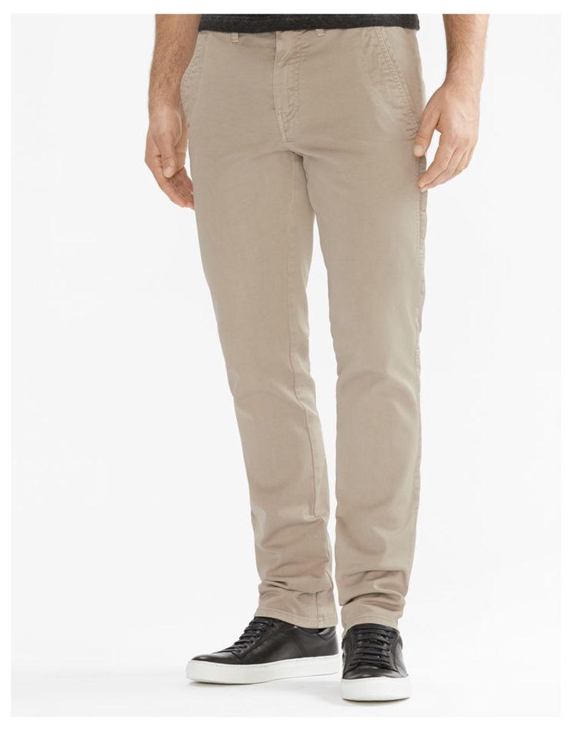 Belstaff Elgar Slim Fit Trousers Stone Grey