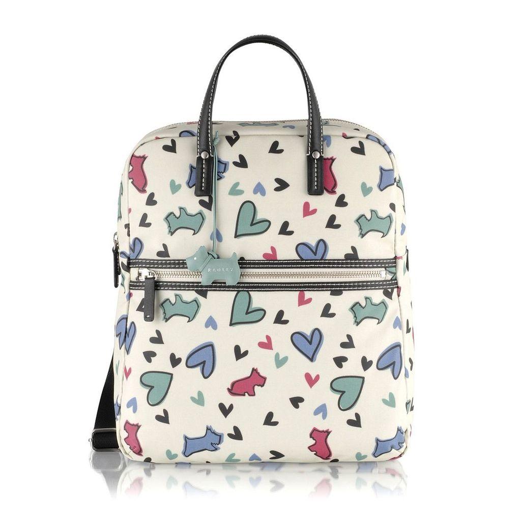 Radley London Love Me, Love My Dog Large Ziptop Backpack