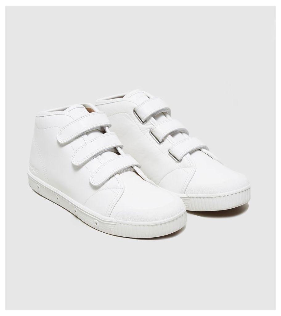 Spring Court B2 Velcro Chukka Leather Women's, White