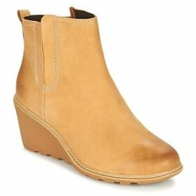 Timberland  EK AMSTON CHELSEA WH  women's Low Ankle Boots in Yellow